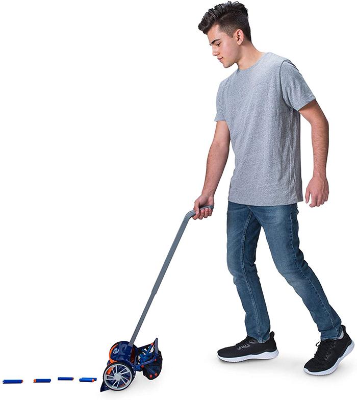 nerf dart vacuum easy cleanup