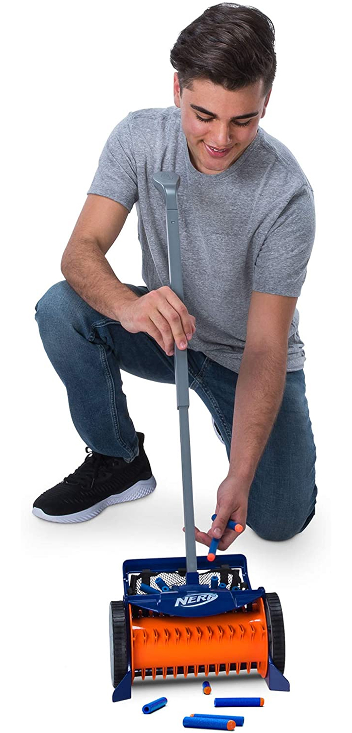 nerf dart vacuum mesh bag