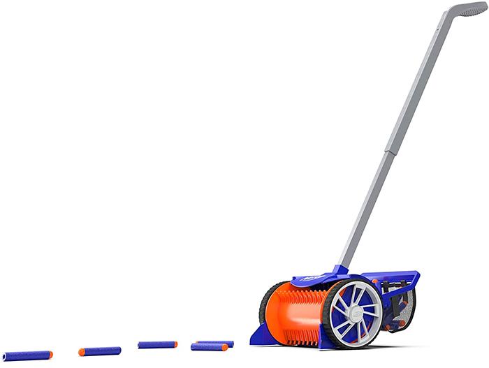 nerf dart vacuum rover