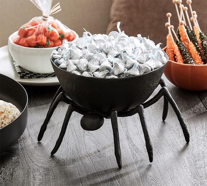 spider candy dish