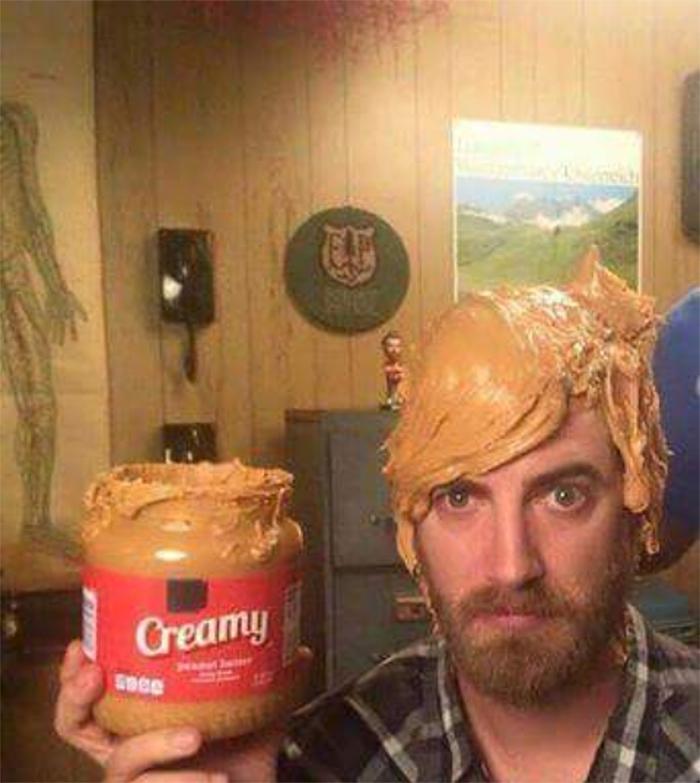 strange things peanut butter hair