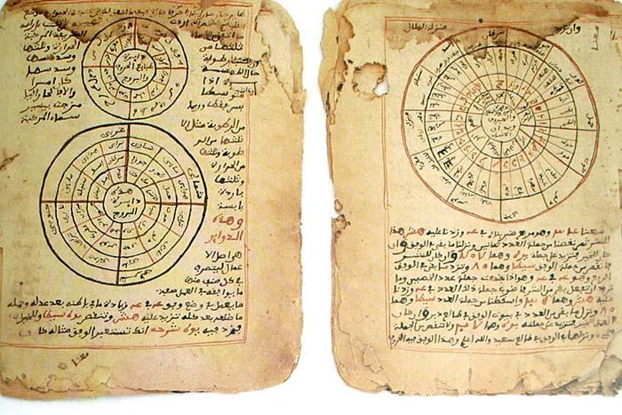 manuscritos de astronomia histórica e matemática timbuktu