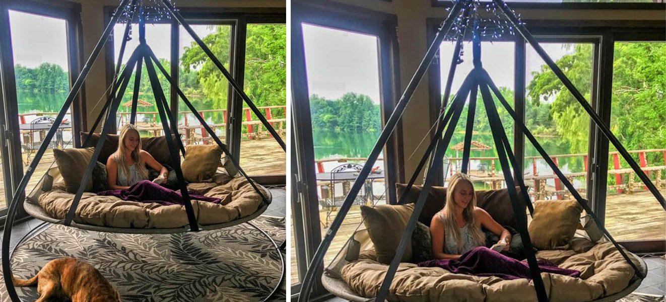 Flying Saucer Hammock Chair