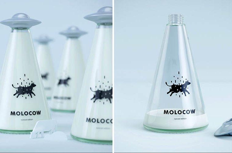 Molocow UFO Milk Bottle