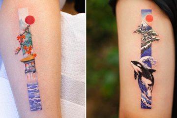 Rectangular Tattoo