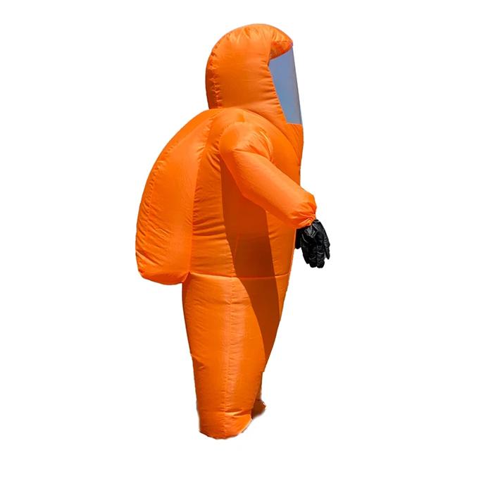 airblown ppe funny costume orange