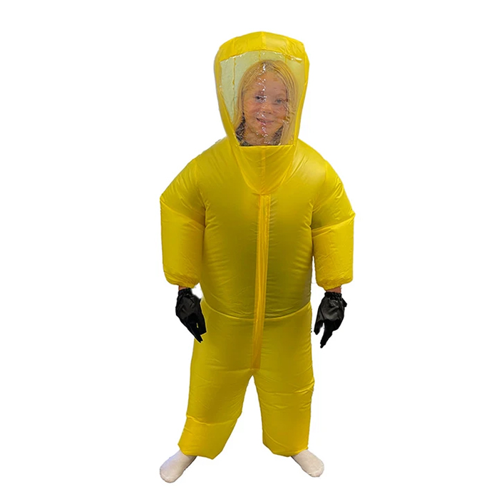 airblown ppe funny costume yellow