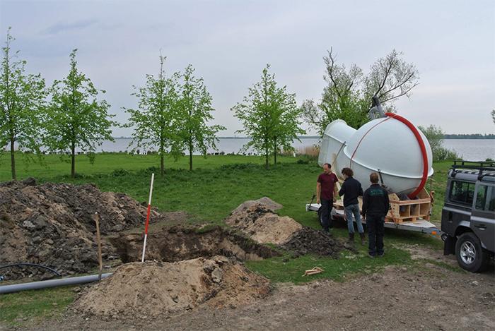 groundfridge installation