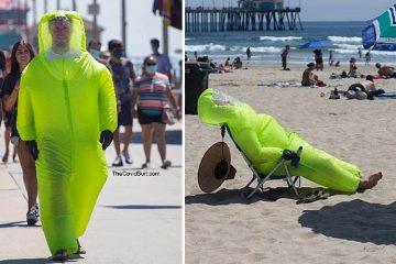 inflatable hazmat suit