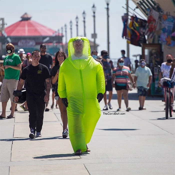 inflatable hazmat suit funny costume