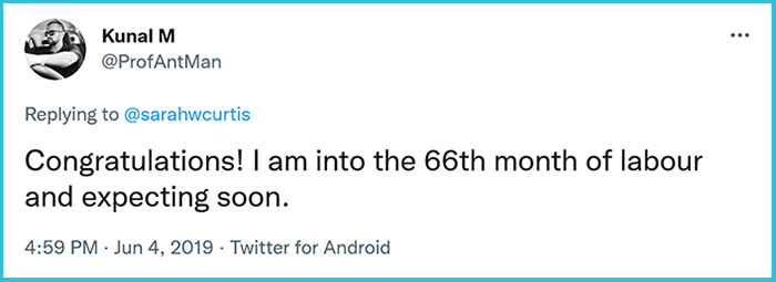 sarah whelan curtis viral post comment kunal m