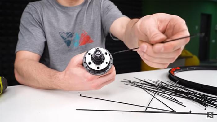 the q removing bike wheels